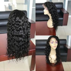 Water Wave Virgin Remy Human Hair Lace Front Wig